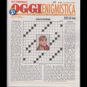 Settimanale Oggi Enigmistica - n. 48 - 1 dicembre 2020 -