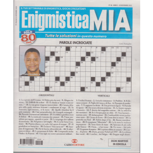 Enigmistica Mia - n. 48 - 30 novembre 2020 - settimanale