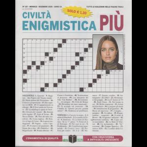 Civilta' Enigmistica Più - n. 157 - mensile - dicembre 2020