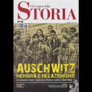 Gli enigmi della storia - n. 38 - Auschwitz memoria e negazionismo -  24/11/2020