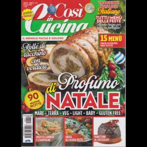 Cosi' in cucina - n. 12 - mensile - dicembre 2020