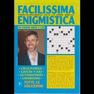 Facilissima Enigmistica - n. 82 - bimestrale - dicembre - gennaio 2021 - 68 pagine