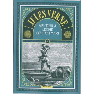 Jules Verne - Ventimila leghe sotto i mari - n. 63 - 20/11/2020 - settimanale