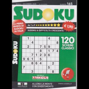 Sudoku - n. 165 - mensile - dicembre 2020