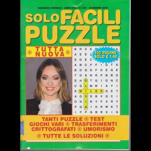 Solo Facili Puzzle - n. 205 - mensile - dicembre 2020 - 100 pagine