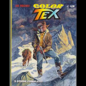 Tex Color - La casa del giudice e altre storie - n. 18 - novembre 2020 - semestrale - 160 pagine!