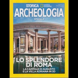 Storica Speciale Archeologia - Lo splendore di Roma - La capitale di Augusto e la Villa Adriana in 3D - n. 16 - dicembre 2020 - bimestrale