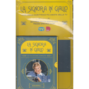 I Dvd di Sorrisi 6 -n. 1 -  La signora in giallo - seconda uscita - stagione 1 - doppio dvd - 24/11/2020 - settimanale