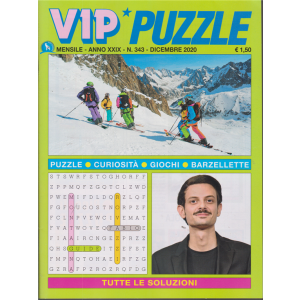 Vip Puzzle - n. 343 - mensile - dicembre 2020