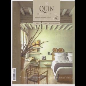 Quin - Quaderno di Interni - n. 41 - novembre - dicembre 2020 - bimestrale