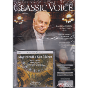 Classic Voice - n. 258 - mensile - novembre 2020