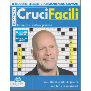 Raccolta CruciFacili - n. 84 - Bruce Willis - bimestrale - 23/11/2020 -