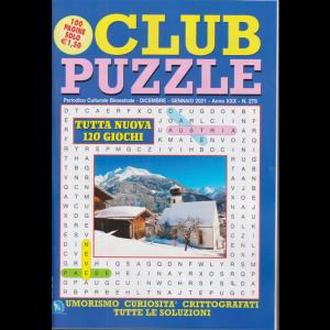 Club Puzzle - n. 279 - bimestrale - dicembre - gennaio 2021 - 100 pagine