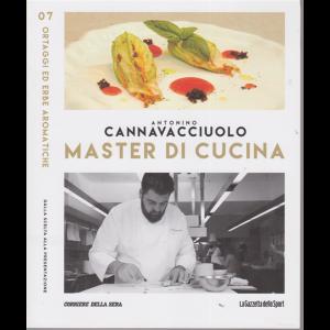 Master di Cucina - Antonino Cannavacciuolo - n. 7 - Ortaggi ed erbe aromatiche - settimanale -