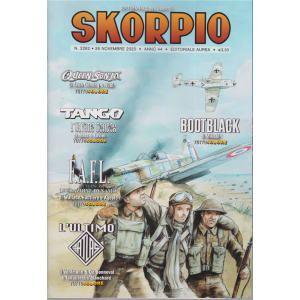 Skorpio - n. 2282 - 26 novembre 2020 - settimanale