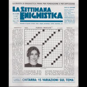 La settimana enigmistica - n. 4627 - 26/11/2020 - settimanale