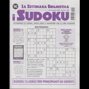 La settimana enigmistica - i sudoku - n. 123 - 26 novembre 2020 - settimanale