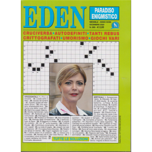 Eden - Paradiso enigmistico - n. 369 - mensile - dicembre 2020 -