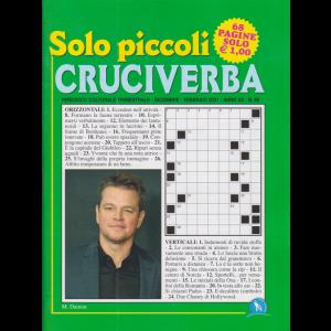 Solo Piccoli Cruciverba - n. 98 - trimestrale - dicembre - febbraio 2021 - 68 pagine