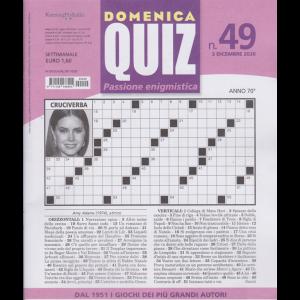 Domenica Quiz - n. 49 - settimanale - 3 dicembre 2020