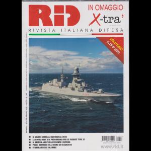 Rid -+ in omaggio    X-Tra' - n. 12 - mensile - dicembre 2020 - 2 riviste