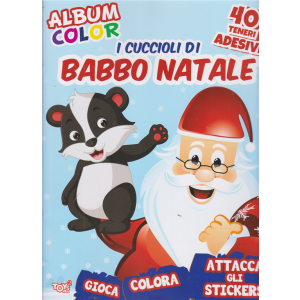 Toys2 Presenta Album color - I cuccioli di Babbo Natale - n. 66 - bimestrale - 19 novembre 2020 -