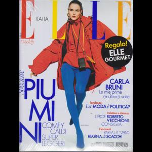 Elle +  in regalo Elle Gourmet - n. 45 - settimanale - 5/12/2020 - 2 riviste