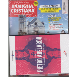 Famiglia cristiana + il libro Eretici o profeti - vol. 8 - Pietro Abelardo - Le ragioni della fede, i sensi della ragione - n. 48 - settimanale - 29 novembre 2020 -