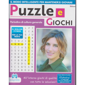 Puzzle e  Giochi - n. 1 - bimestrale - 25/11/2020 -