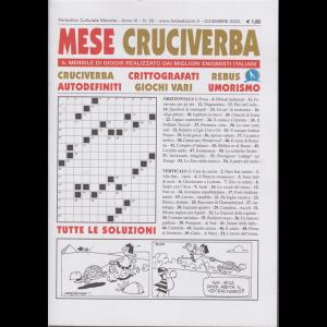 Mese Cruciverba - n. 29 - mensile - dicembre 2020