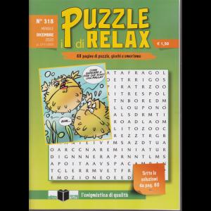 I Puzzle di Relax - n. 318 - mensile - dicembre 2020