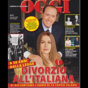 Oggi - Numero da collezione - Divorzio all'italiana - dicembre 2020 -