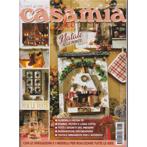 Casamia Idee - n. 263 - dicembre 2020 - mensile per la casa