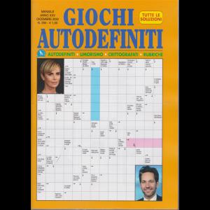 Giochi Autodefiniti - n. 294 - mensile - dicembre 2020