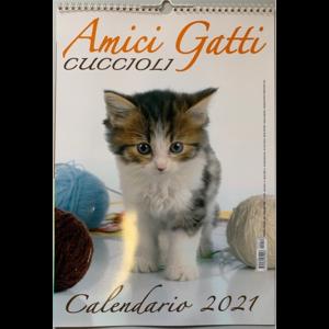 Calendario 2021 Amici gatti cuccioli - cm. 29 x 42 con spirale