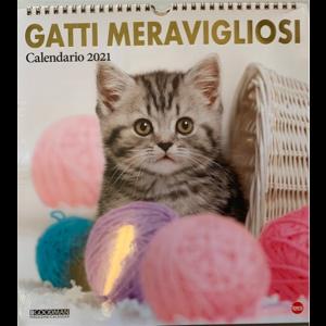 Calendario 2021 Gatti meravigliosi - cm. 27.5 x 30 con spirale