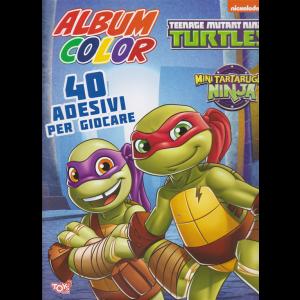 Toys2 Color Game - Album color - Teenage mutant Ninja - n. 41 - bimestrale - 26 novembre 2020