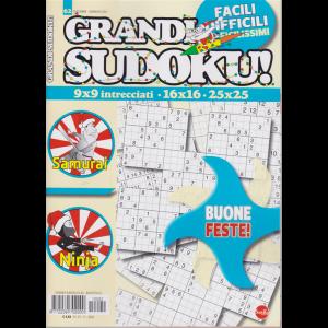 Grandi Sudoku - n. 62 - dicembre - gennaio 2021 - bimestrale