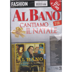 Music Fashion Var.87 - Al Bano -  Cantiamo il Natale - rivista + 2 cd -