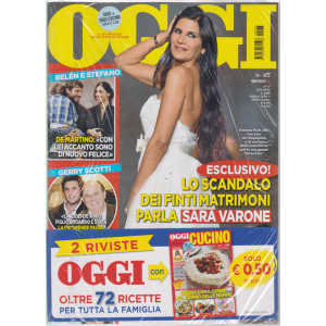 Oggi + Oggi cucino - n. 17 - 2/5/2019 - settimanale - 2 riviste
