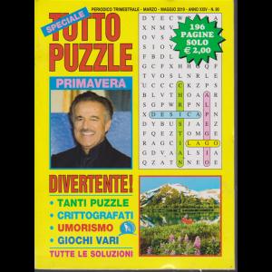 Speciale Tutto Puzzle Primavera  - n. 90 - trimestrale - marzo - maggio 2019 - 196 pagine