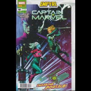 Captain Marvel - n. 18 -Indagine mortale! -  mensile - 26 novembre 2020