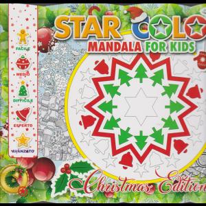 Star Color - Mandala for kids - Christmas Edition - n. 1 - bimestrale - novembre/dicembre 2020 -