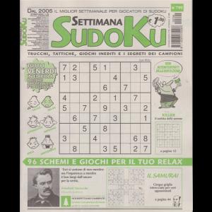 Settimana Sudoku - n. 799 - settimanale - 4 dicembre 2020