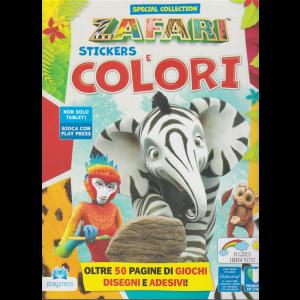 Zafari Sticker. e Colori - n. 5 - dicembre 2020 - gennaio 2021 - bimestrale -