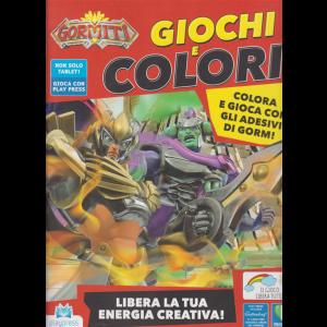 Gormiti Giochi e colori - n. 10 - dicembre 2020 - gennaio 2021 - bimestrale