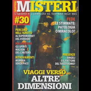 Misteri - n. 30 - bimestrale - 27/11/2020 -