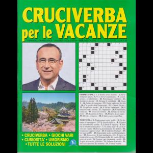 Cruciverba Per Le Vacanze - n. 211 - trimestrale - maggio - luglio 2019 - Carlo Conti