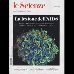 Le Scienze - La lezione dell'Aids - n. 628 - dicembre 2020 - mensile