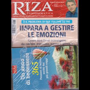 Riza Psicosomatica - + il libro Un anno di benessere - n. 478 - mensile - dicembre 2020 - rivista + libro